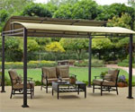 Barrel Roof Pergola