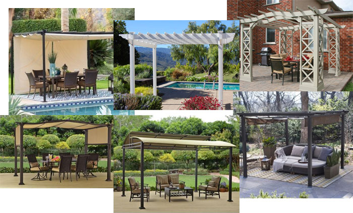 The top 6 portable pergola kits for 2018 and why top 6 portable pergola kits solutioingenieria Gallery