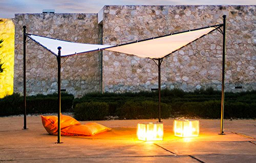 Abba Patio Butterfly Gazebo At Night