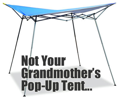 Evo Shade Instant Canopy - Not Your Grandmother's Pop-Up Tent