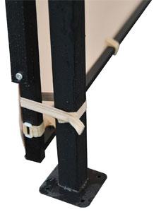Expandable Gazebo Side Tie-Down
