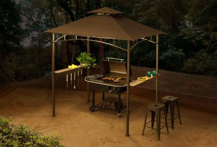 For Ex&le the Gazebo Canopy Has a Great Design. Sunjoy BBQ Grill ... & Sunjoy BBQ Grill Gazebo - Itu0027s More than a Bargain