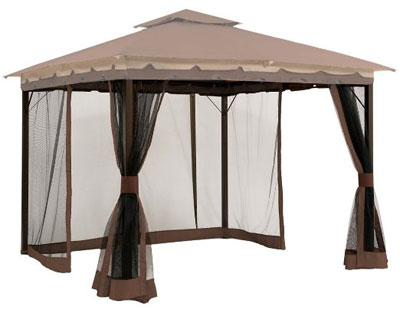 Mosquito Netting for Pergola or Gazebo