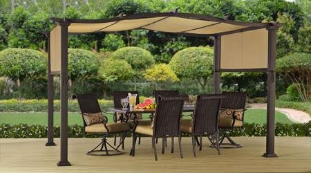 The top 6 portable pergola kits for 2018 and why Better homes and gardens gazebo
