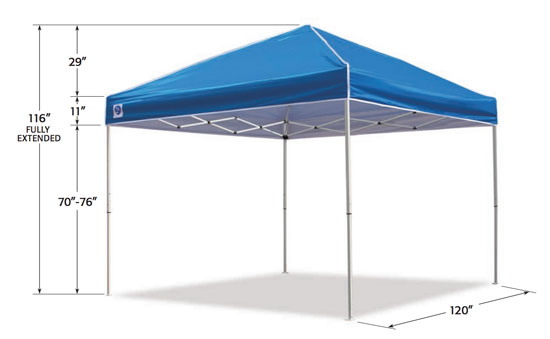 Tall Pop Up Shelter : Z shade everest which pop up tent should you buy