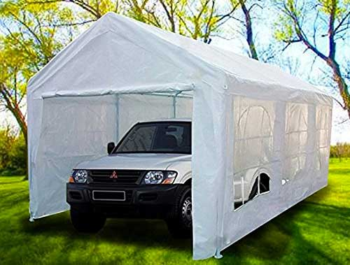 5 Ways A Portable Carport Canopy May Beat A Gazebo